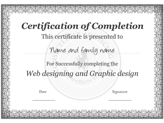 Certificate of Completion 01
